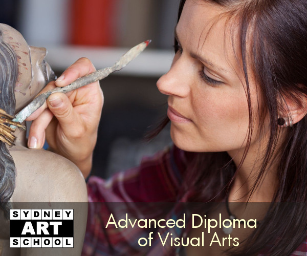 advanced diploma of visual arts student 600x500